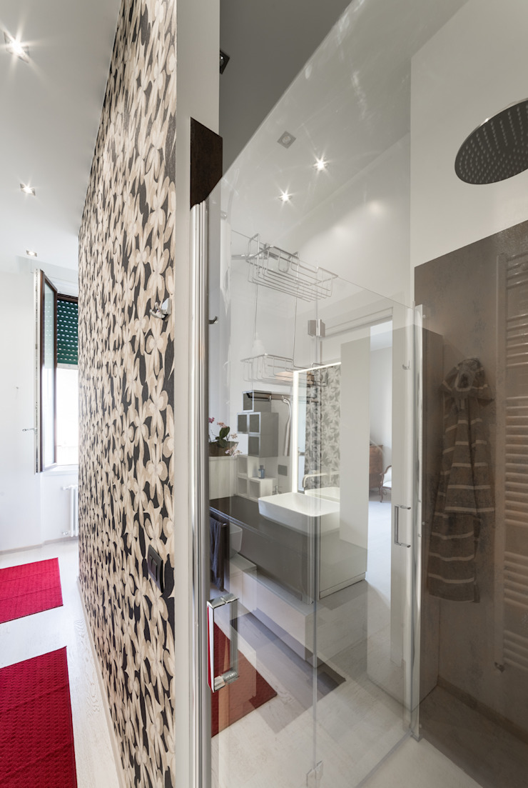 Eclectic style bathrooms by Annalisa Carli Eclectic Wood Wood effect