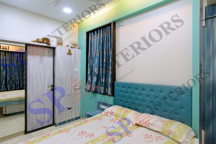 Sagar bajaj Modern style bedroom by SP INTERIORS Modern