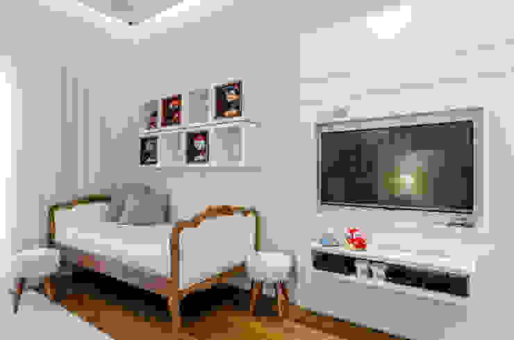dormitório do BB okha arquitetura e design Quartos de bebê Madeira Bege