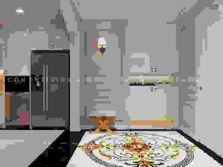 Thiết kế nội thất phong cách TÂN CỔ ĐIỂN cùng căn hộ Vinhomes Central Park bởi ICON INTERIOR Kinh điển