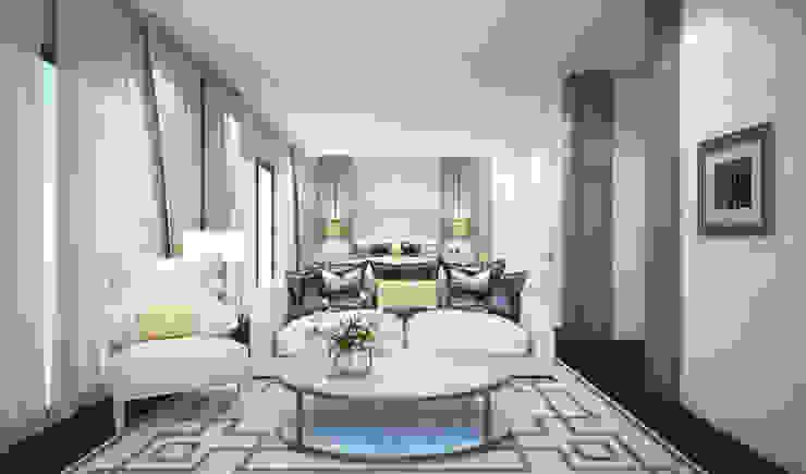 Bedroom: ทันสมัย  โดย Luxxri Design, โมเดิร์น
