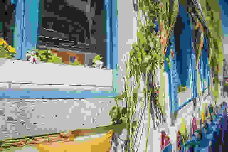 Paredes y suelos de estilo mediterráneo de Dijivol Duvar Kağıtları Mediterráneo