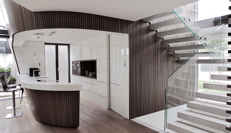 Кухни в . Автор – Cluster Architekten / Inkognito