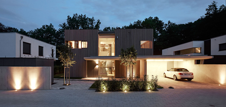 Дома в . Автор – Cluster Architekten / Inkognito