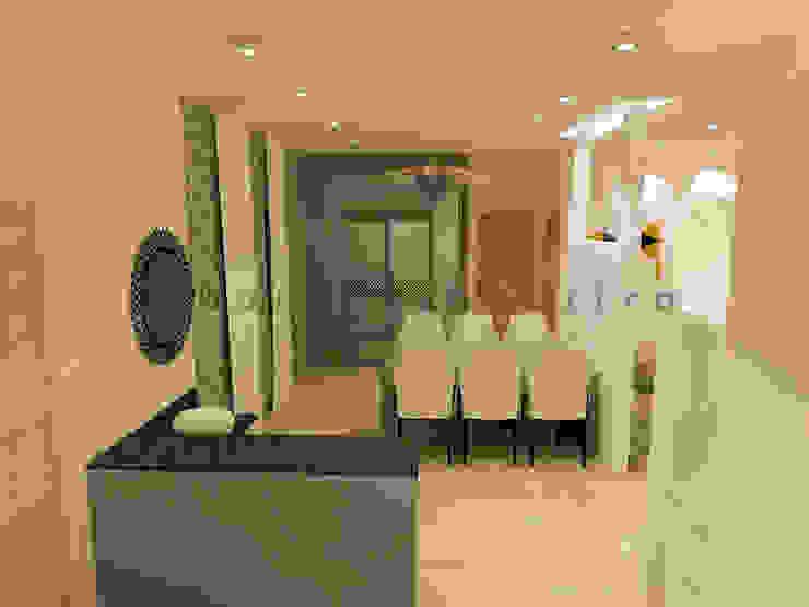 The Dining Area Minimalist dining room by Urban Shaastra Minimalist Engineered Wood Transparent