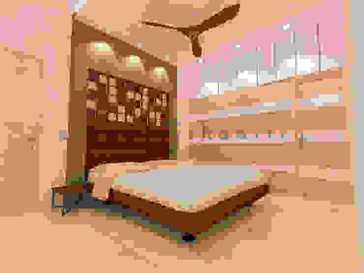 The Bedroom Minimalist bedroom by Urban Shaastra Minimalist MDF