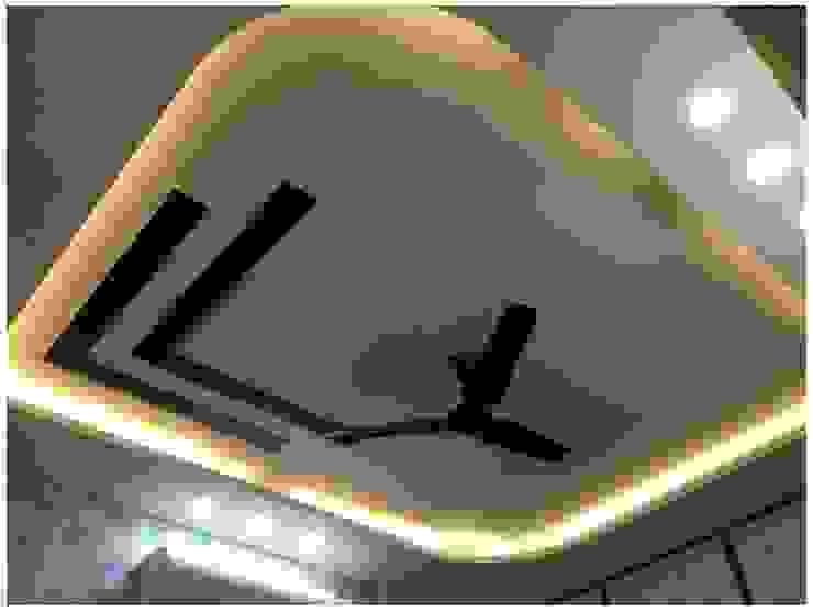 False Ceiling in the Master Bedroom Modern Bedroom by U and I Designs Modern