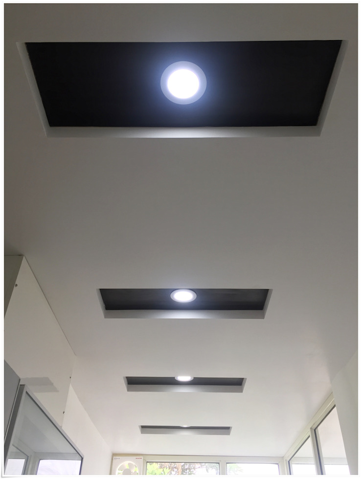False Ceiling in the Kitchen Modern Kitchen by U and I Designs Modern