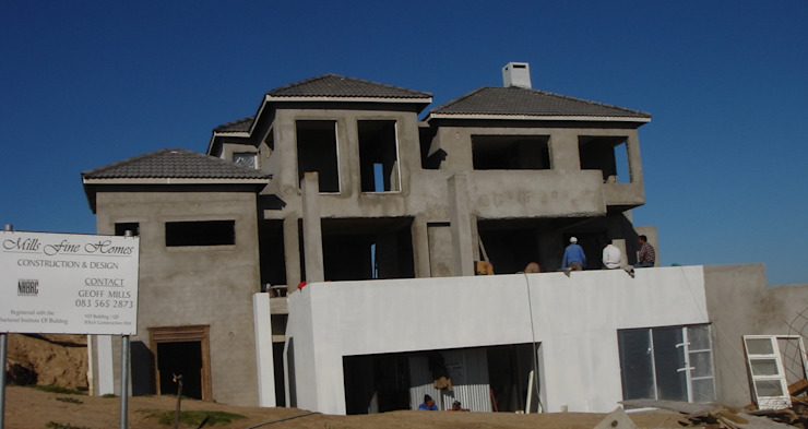 MFH Construction - 19 Sunbird Rd, Langebaan by Mills Fine Homes - Construction . Project Management . Design Colonial Concrete