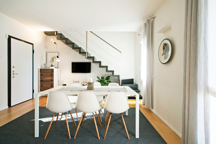 Modern dining room by Chantal Forzatti architetto Modern