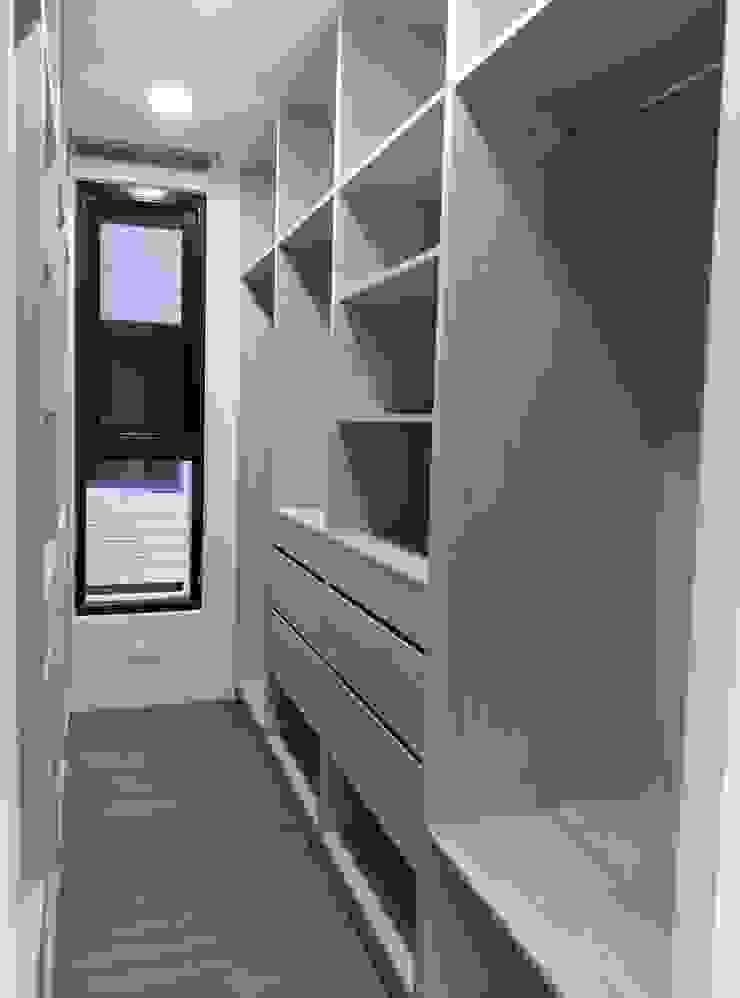 更衣室 根據 紅帥設計 現代風 木頭 Wood effect