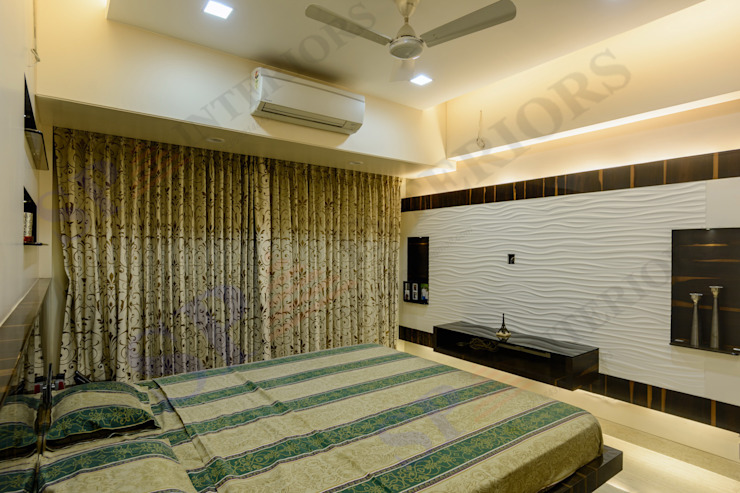 Ajay Bali Modern style bedroom by SP INTERIORS Modern