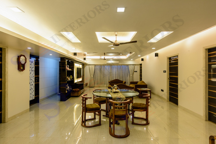 Ajay Bali Modern dining room by SP INTERIORS Modern