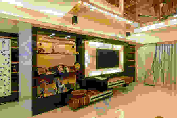 Ajay Bali Modern living room by SP INTERIORS Modern