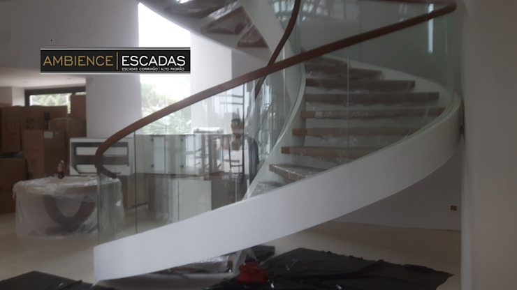 ambience escadas e corrimão Stairs Glass