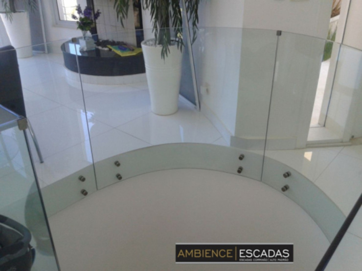 ambience escadas e corrimão Terrace Glass