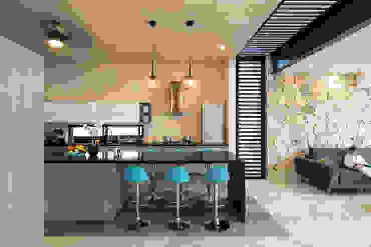 P11 ARQUITECTOS ห้องครัว