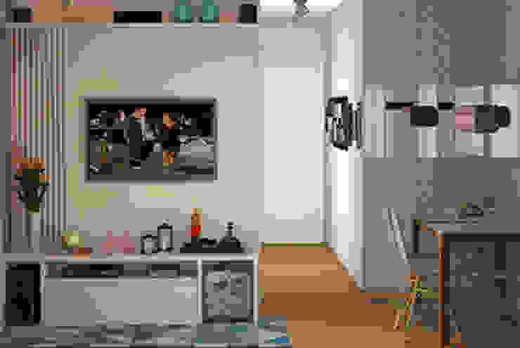 Decoropravocê - Decoração ao seu alcance. Eclectic style dining room MDF Blue