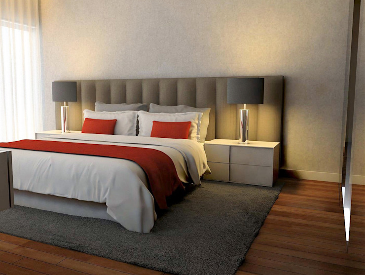Dormitorios de estilo moderno de Casactiva Interiores Moderno
