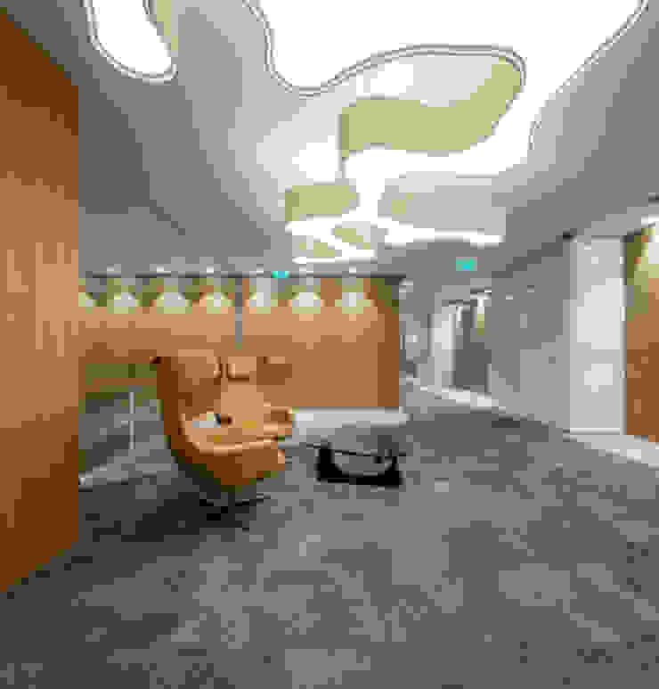 Sede Deloitte em Lisboa por Traços Interiores Moderno Alumínio/Zinco
