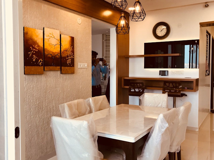 Project The D'zine Studio Modern dining room