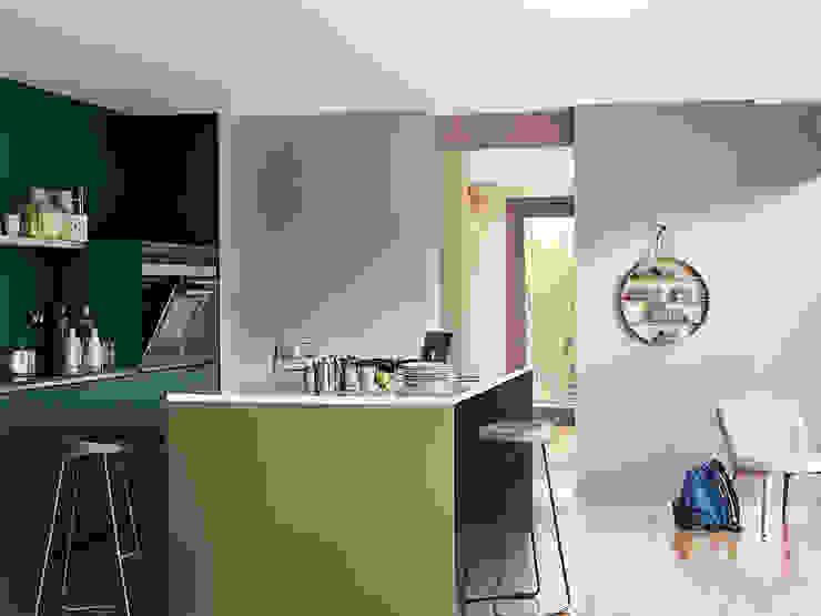 The Playful Kitchen Dulux UK Dapur Modern Green