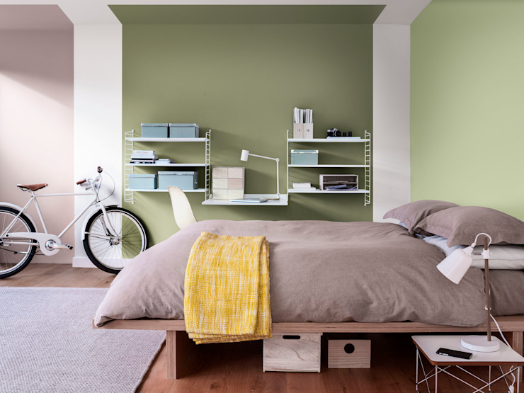 The Playful Bedroom:  Bedroom by Dulux UK,