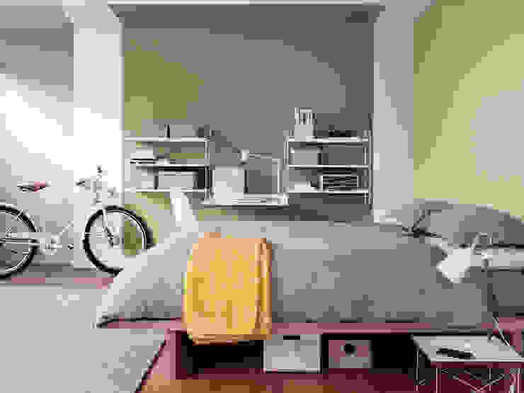 The Playful Bedroom Phòng ngủ phong cách hiện đại bởi Dulux UK Hiện đại