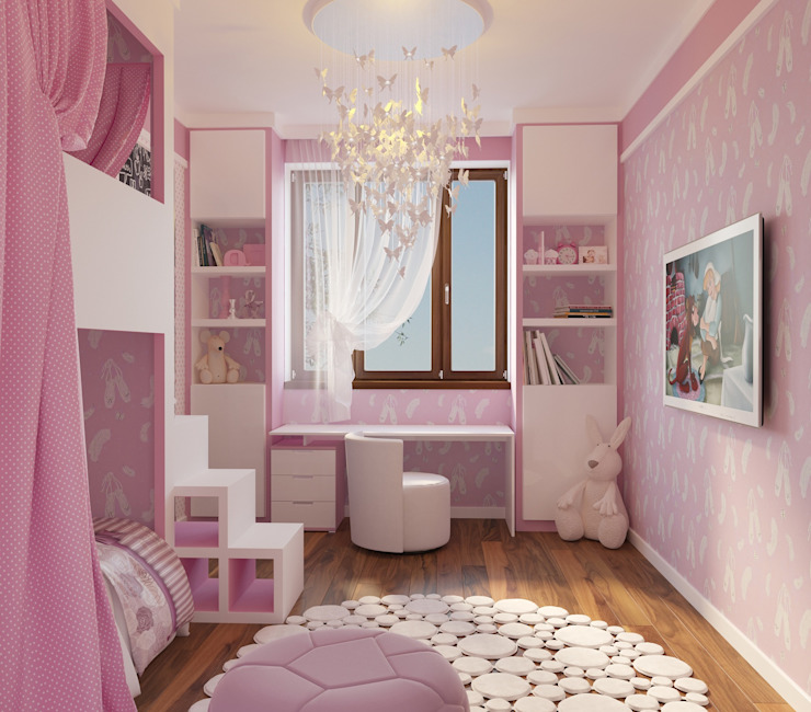 Вира-АртСтрой Minimalist nursery/kids room