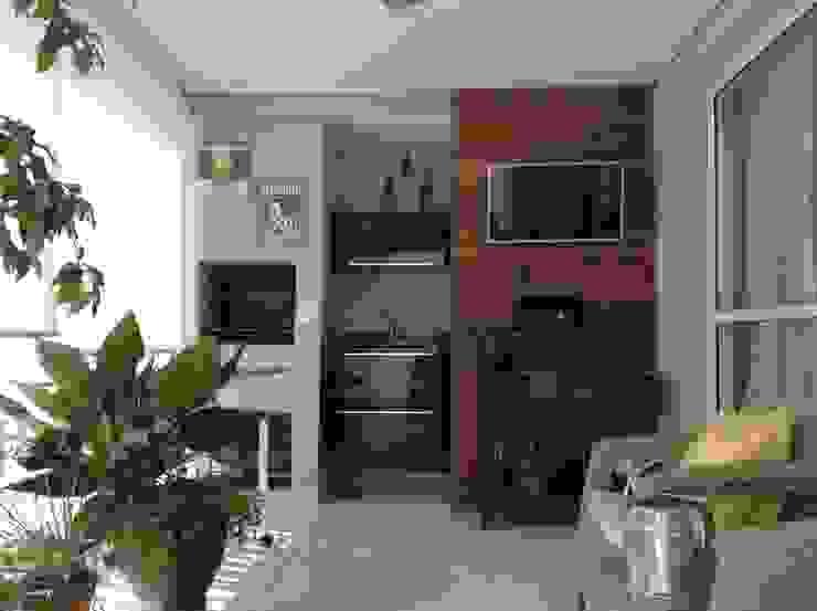 BP.ARQ DESIGN Balcone, Veranda & Terrazza in stile eclettico