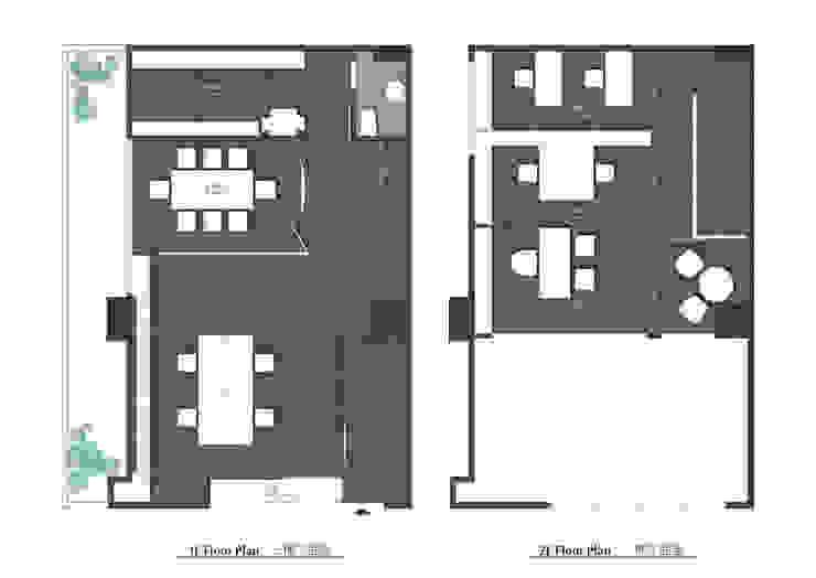 龘Ta / 框 根據 騰龘空間設計有限公司 現代風