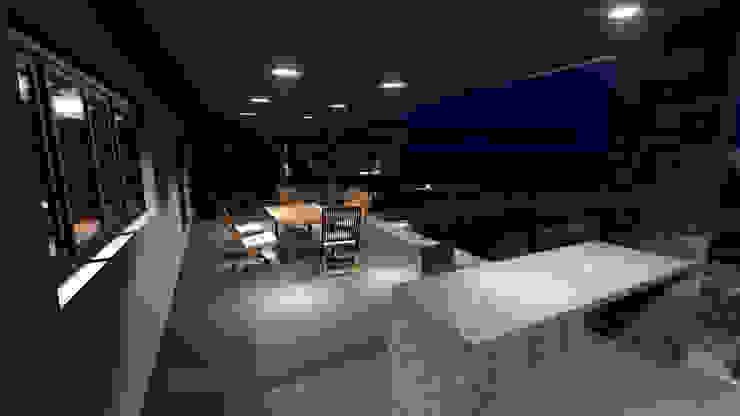 VIVIENDA VB de BVS+GN ARQUITECTURA Moderno Piedra