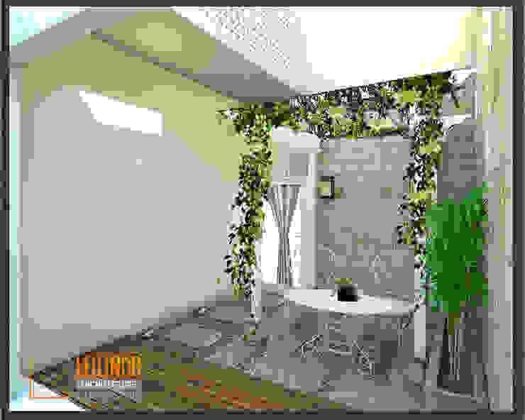CV Leilinor Architect 庭院