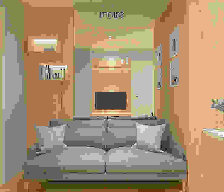 SMALL NOT TO SMALL Ruang Keluarga Gaya Skandinavia Oleh Moire Living Skandinavia Kayu Wood effect