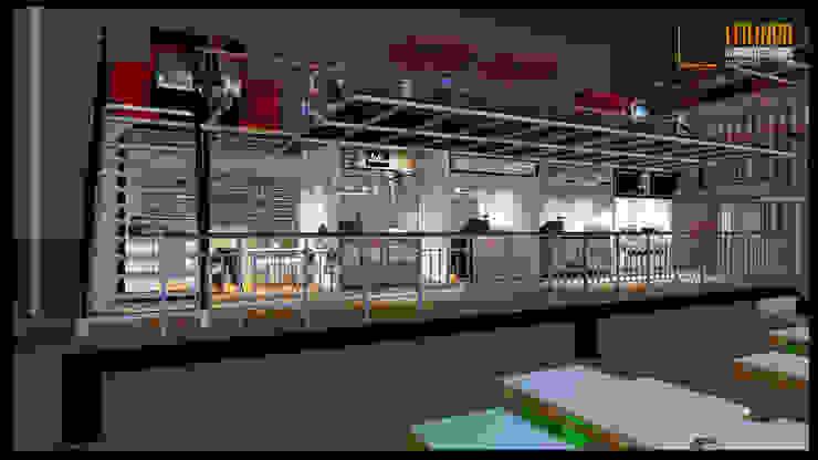 Container Restaurant Gastronomi Gaya Industrial Oleh CV Leilinor Architect Industrial
