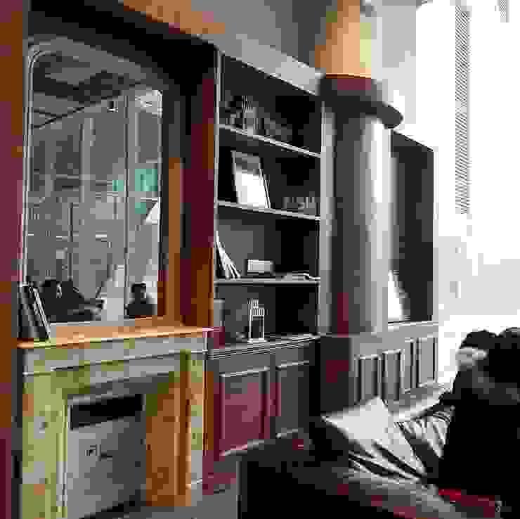 french bookcase corner jun wan dumont Classic gastronomy Wood Brown