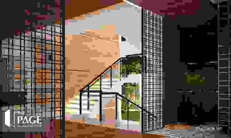 Projekty,  Schody zaprojektowane przez The Page Interior & Design