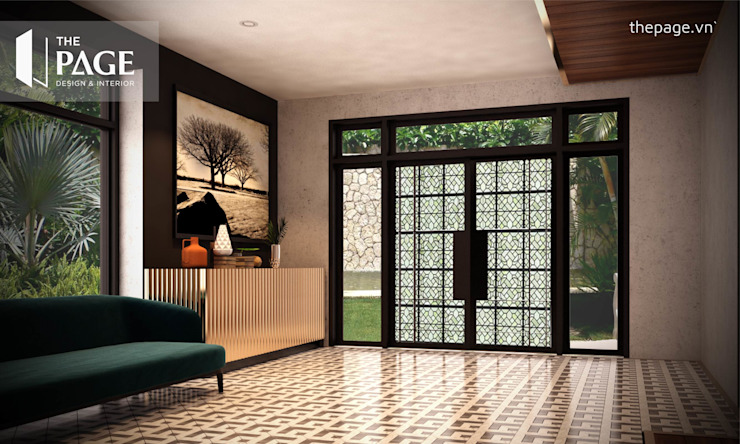 The Page Interior & Design Sliding doors