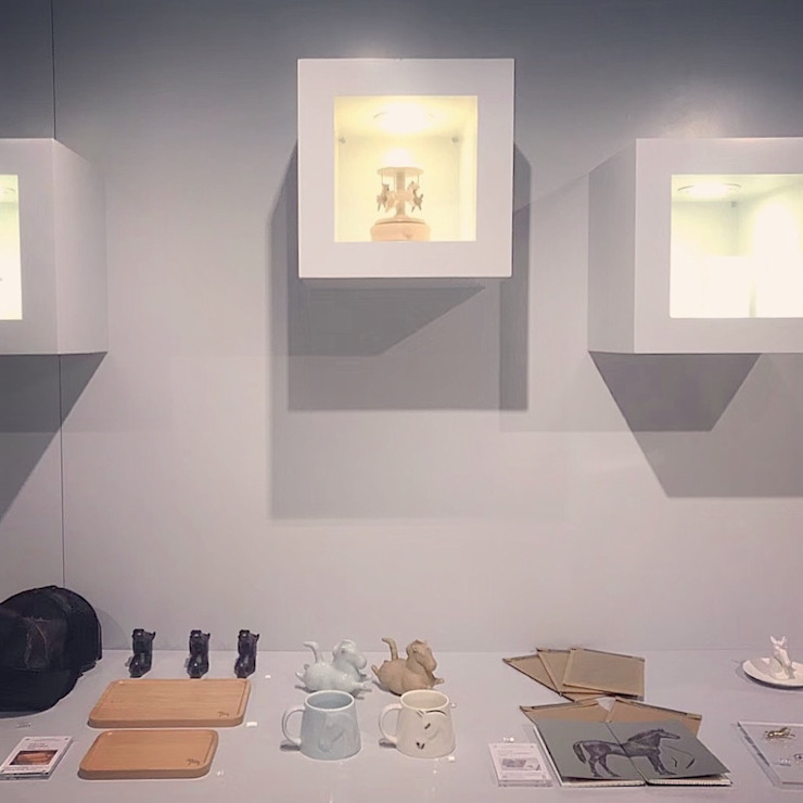 showcase & linear jun wan dumont Minimalist exhibition centres Wood White