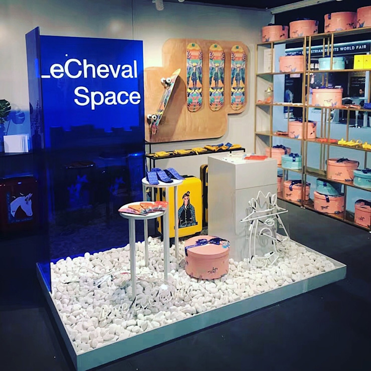 display small island jun wan dumont Minimalist exhibition centres Glass Blue