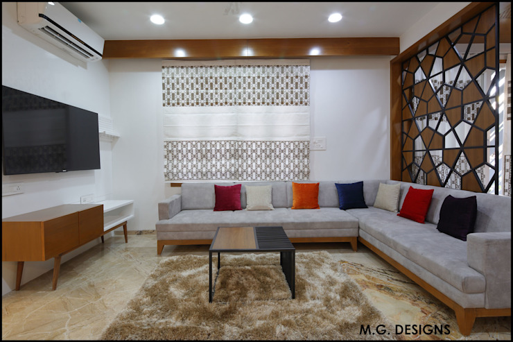 Living Room by malvigajjar Modern