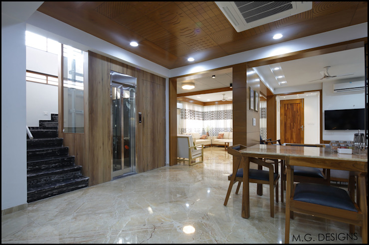 Dining room by malvigajjar, Modern