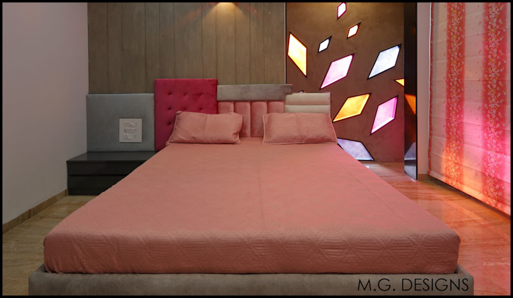 Bedroom by malvigajjar, Modern