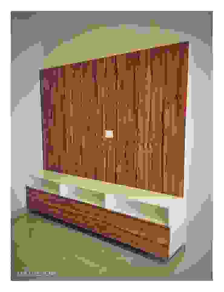 TV Unit Minimalist living room by U and I Designs Minimalist