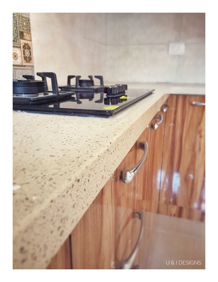 Corian Counter Top in the Kitchen by U and I Designs Modern Granite