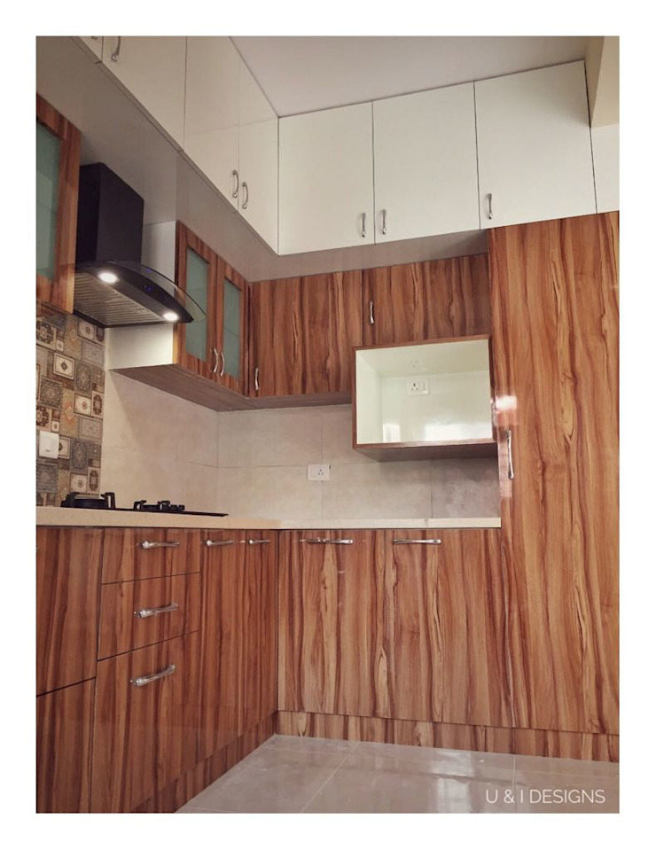 Kitchen with Tall Unit by U and I Designs Modern