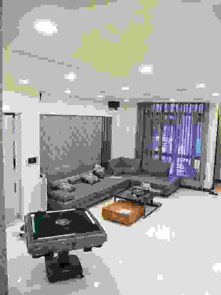 居家設計: 亞洲  by 城藝室內裝修企業有限公司, 日式風、東方風 合成纖維 Brown