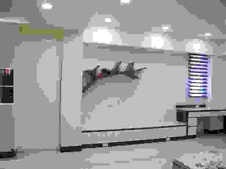 居家設計: 亞洲  by 城藝室內裝修企業有限公司, 日式風、東方風 塑木複合材料