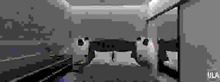 TATA Camera da letto eclettica di ULA architects Eclettico