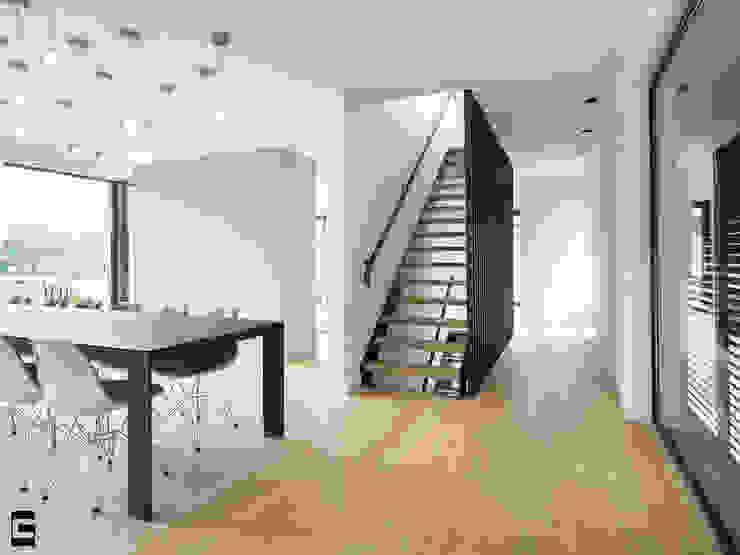 Eetkamer | trap Moderne eetkamers van Geert van den Oetelaar . Architect Modern